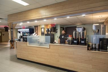 Javaroma Gourmet Coffee And Tea Yellowknife Airport - Arrivals Hall - Interior - 002