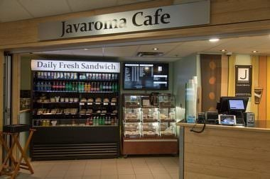 Javaroma Gourmet Coffee And Tea Yellowknife Airport - Arrivals Hall - Interior - 003