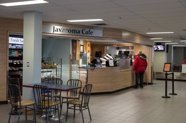 Javaroma Gourmet Coffee And Tea Yellowknife Airport - Arrivals Hall - Interior - 005