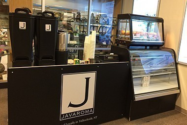 Javaroma Gourmet Coffee And Tea Yellowknife Airport - Departures Hall - Interior - 002